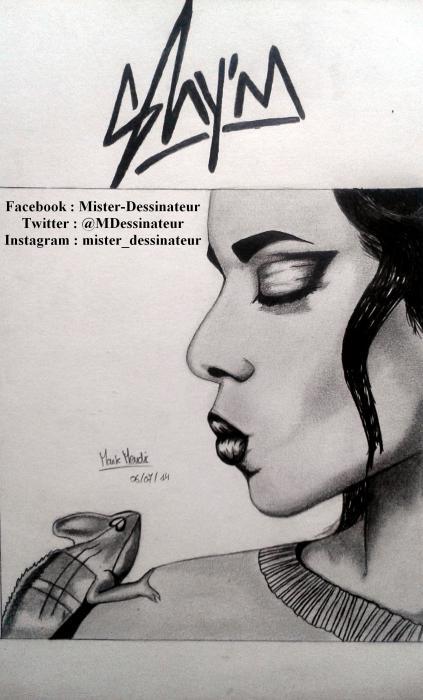Shy'm by MisterDessinateur45